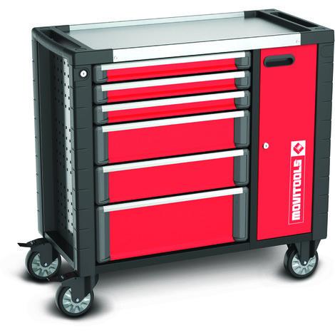 Ateliers Mobiles Rempli Avec Outil À Usine Coffre à Outils Équipé